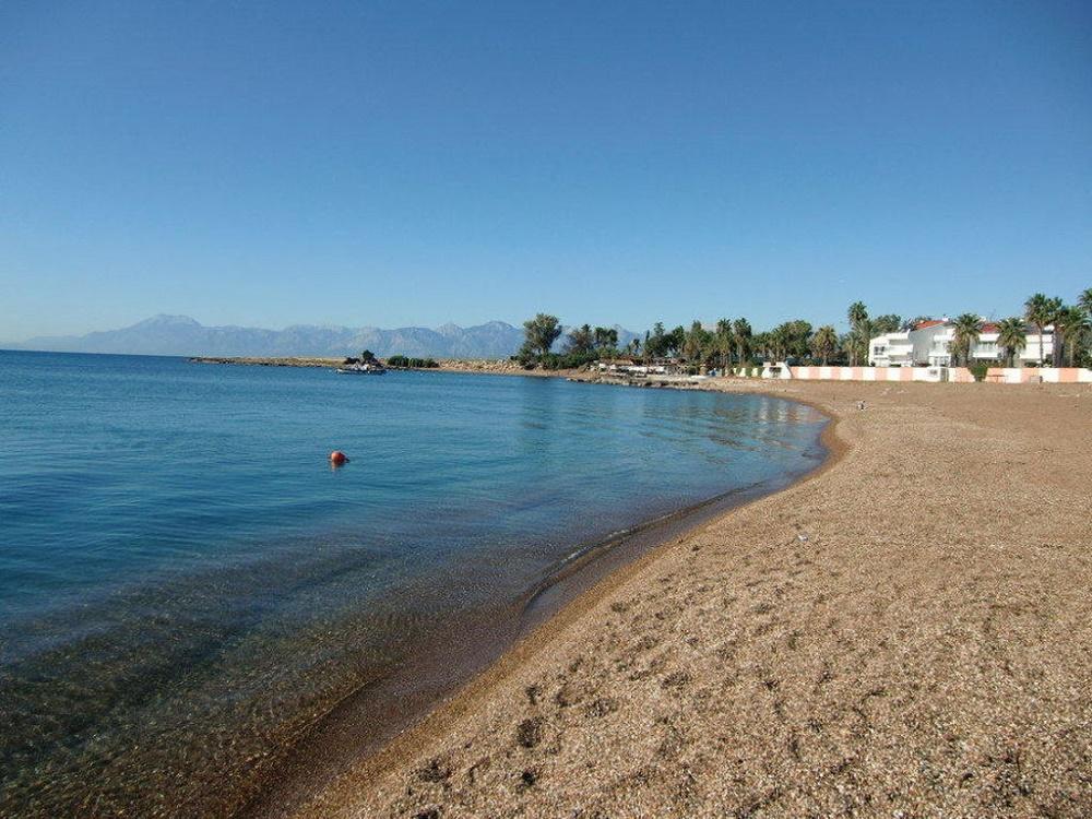 سواحل معروف منطقه لارا آنتالیا