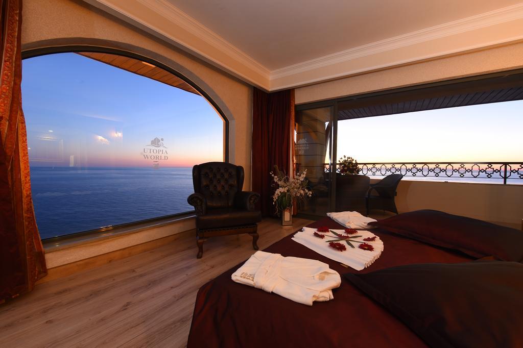 اتاق های هتل اتوپیا آلانیا