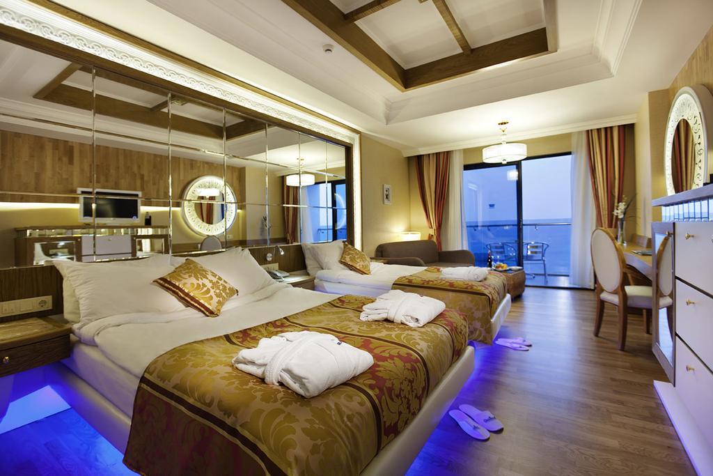 اتاق های هتل گرانادا آلانیا