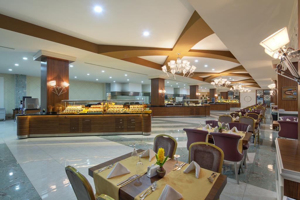 رستوران ها و امکانات تفریحی هتل زافیرا دلوکس آلانیا
