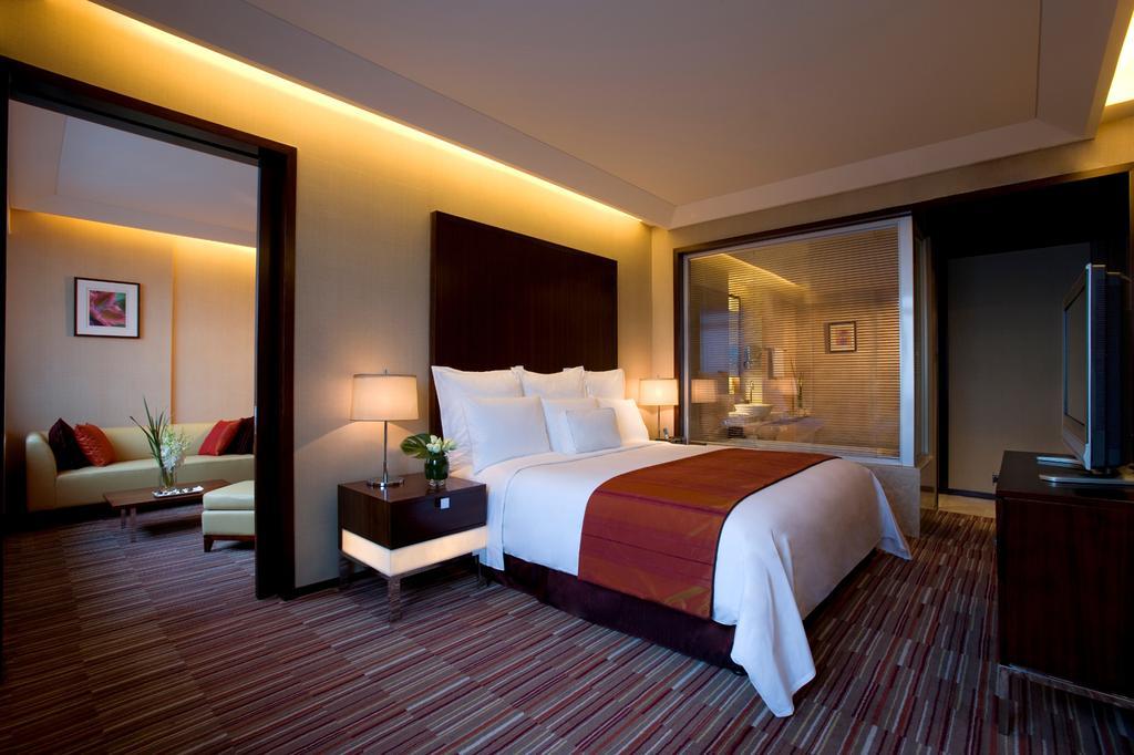 اتاق های هتل رنسانس ژنگشن پارک شانگهای