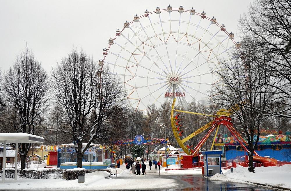 دیدنی های پارک ودنخا در مسکو