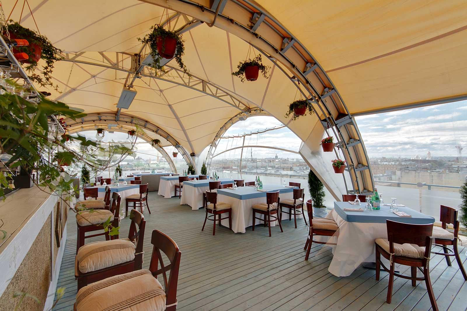 رستوران ها و امکانات تفریحی هتل ودنسکی سن پترزبورگ