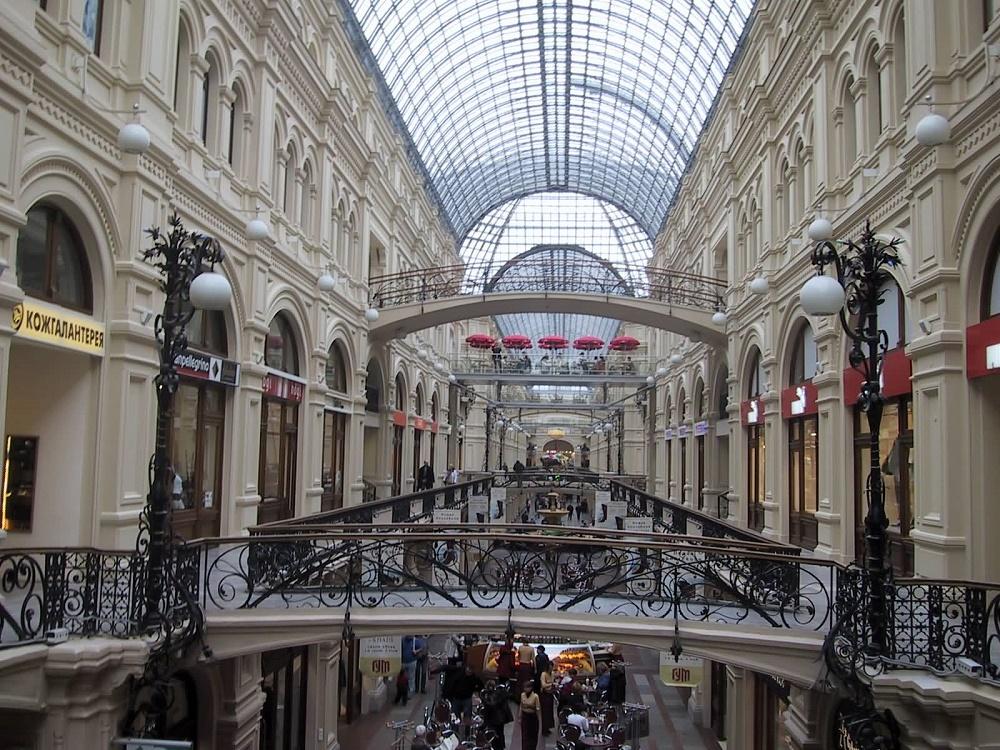 مرکز خرید گوم مسکو