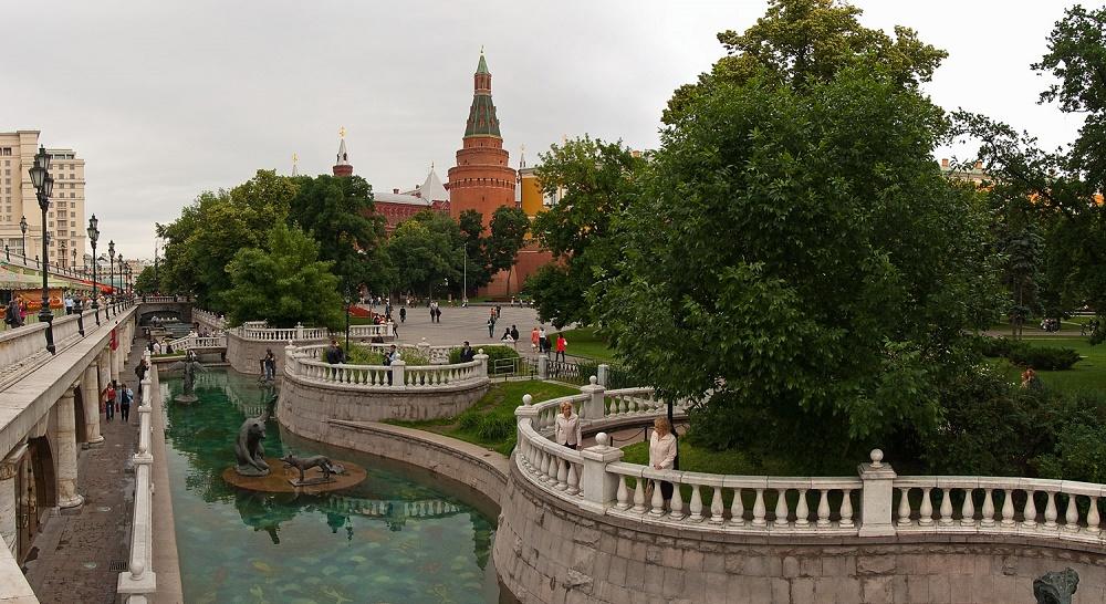 تاریخچه باغ الکساندر مسکو