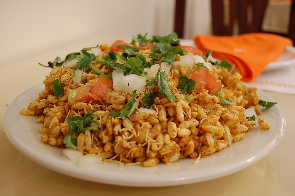 بلپوری غذای خیابانی در هند