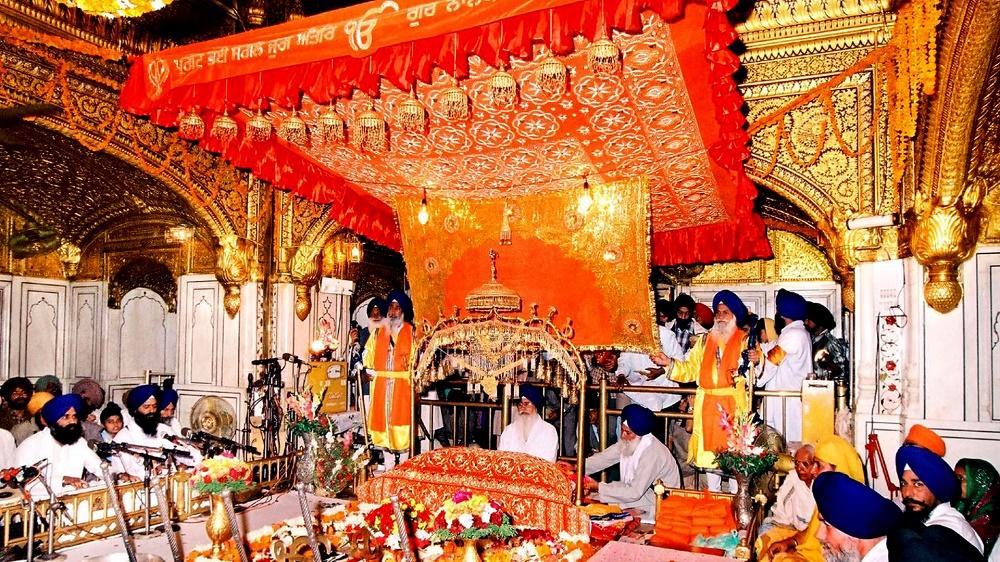 تاریخچه معبد طلایی هند