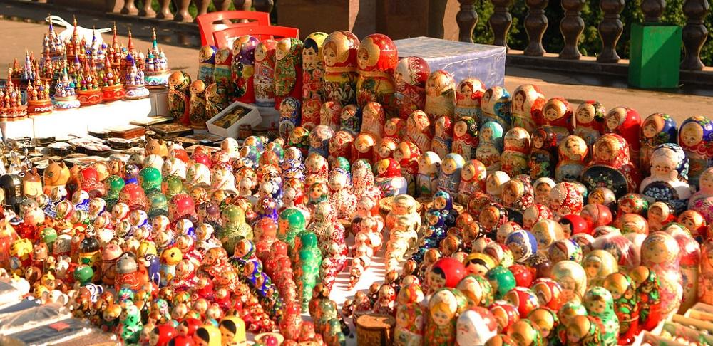 بازار صنایع دستی ایزمایلوا مسکو