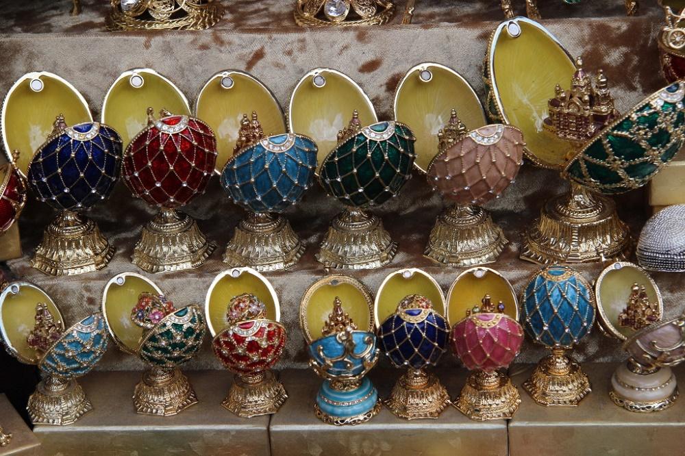 صنایع دستی در بازار ایزمایلُوا مسکو