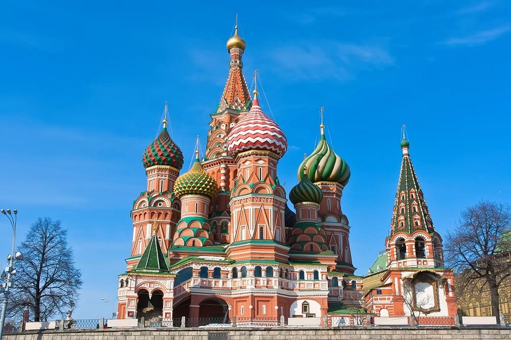 کلیسا سنت باسیل مسکو