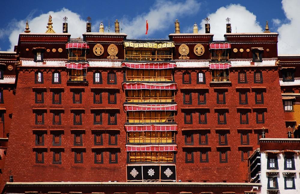 قصر قرمز پوتالا چین