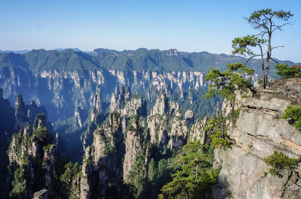 افسانه کوهستان هوانگ شان چین