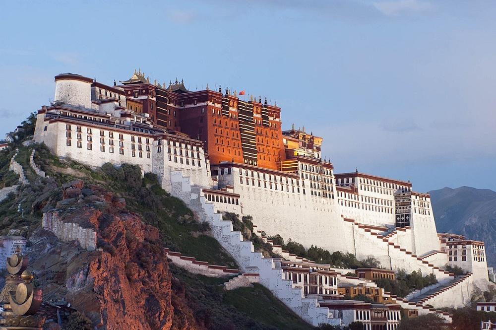 معماری کاخ پوتالا چین