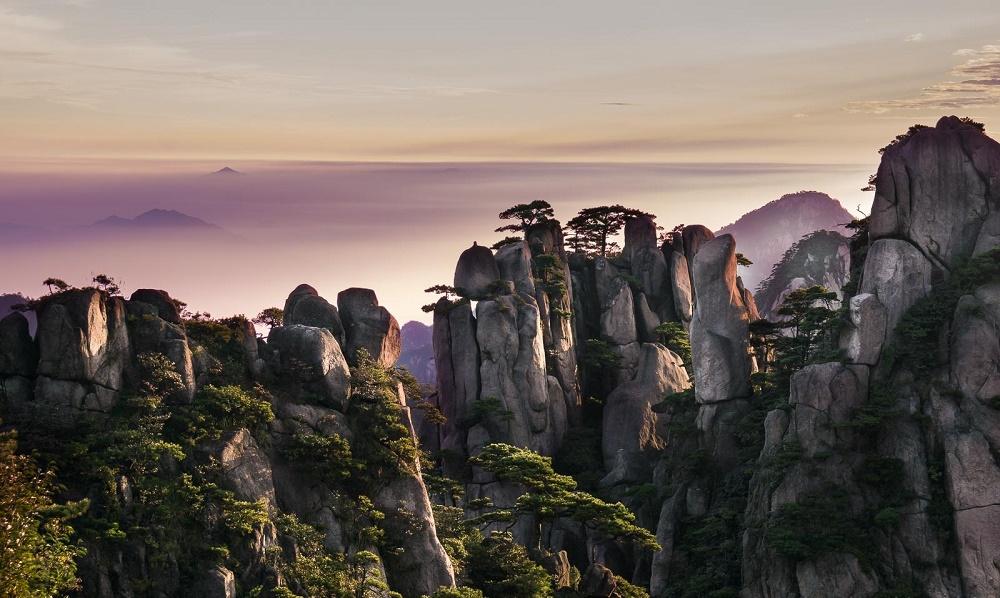 کوهستان هوانگ شان چین