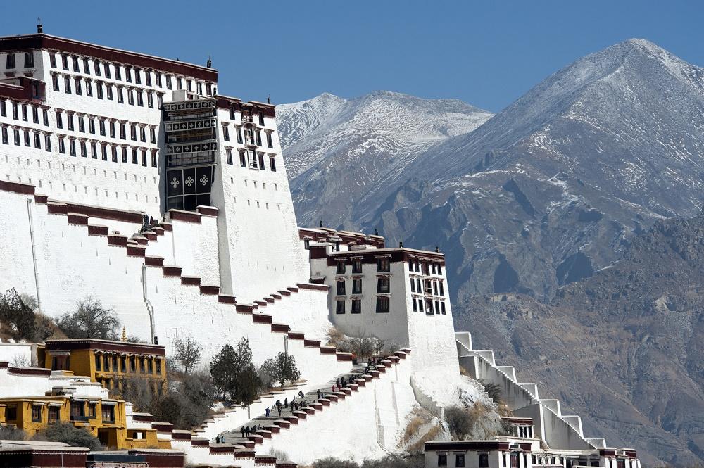 قصر سفید پوتالا چین