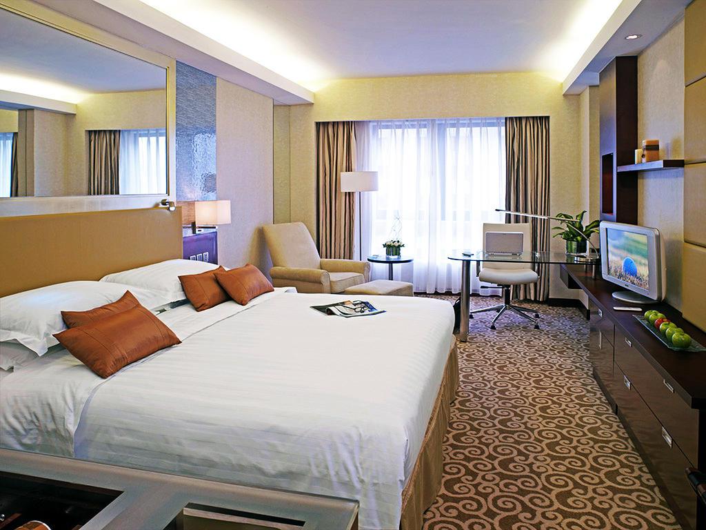 اتاق های هتل کراون پلازا پکن چین