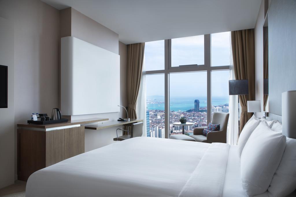 اتاق های هتل ماریوت شیشلی استانبول