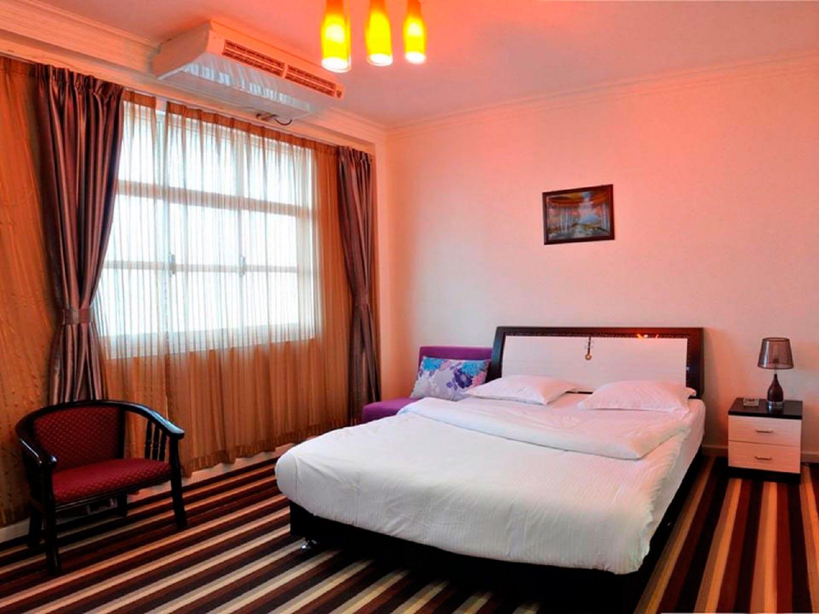 اتاق های هتل مارینا قشم