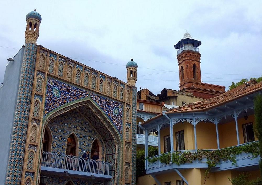 معماری مسجد جامع تفلیس