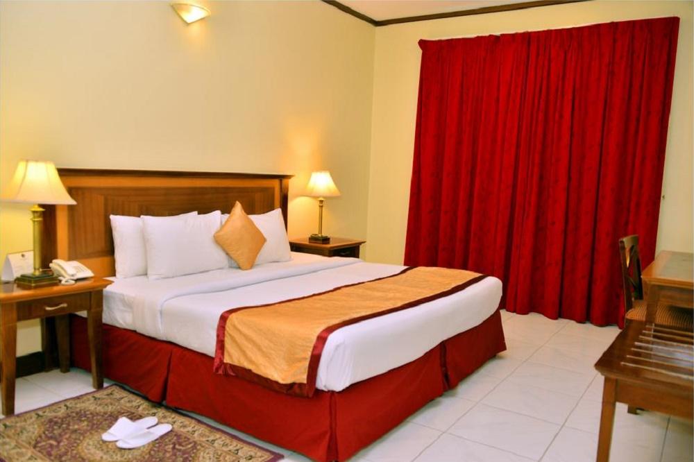 اتاق های هتل دیزرت رز دبی