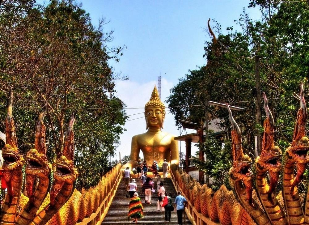 مجسمه بودای بزرگ پاتایا تایلند