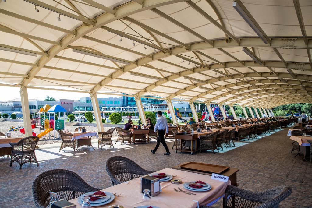 رستوران ها و امکانات رفاهی هتل رامادا باکو