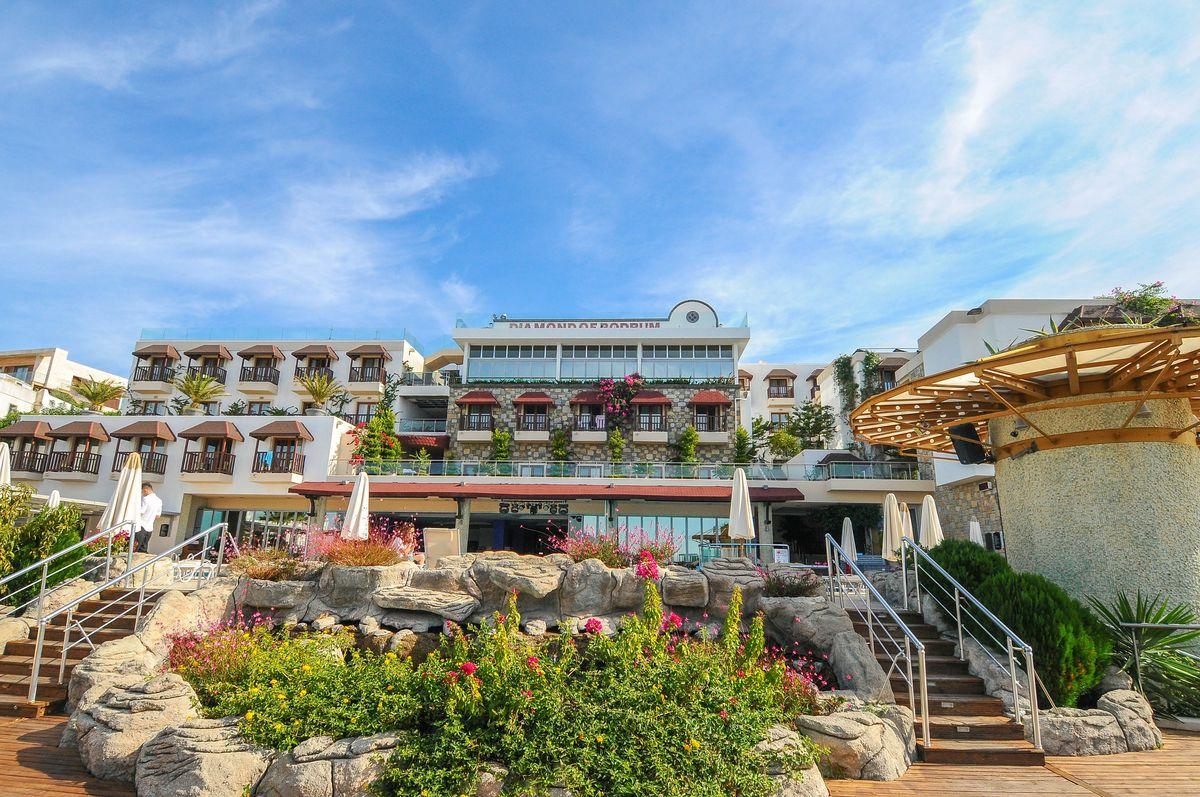 هتل دیاموند بدروم ترکیه