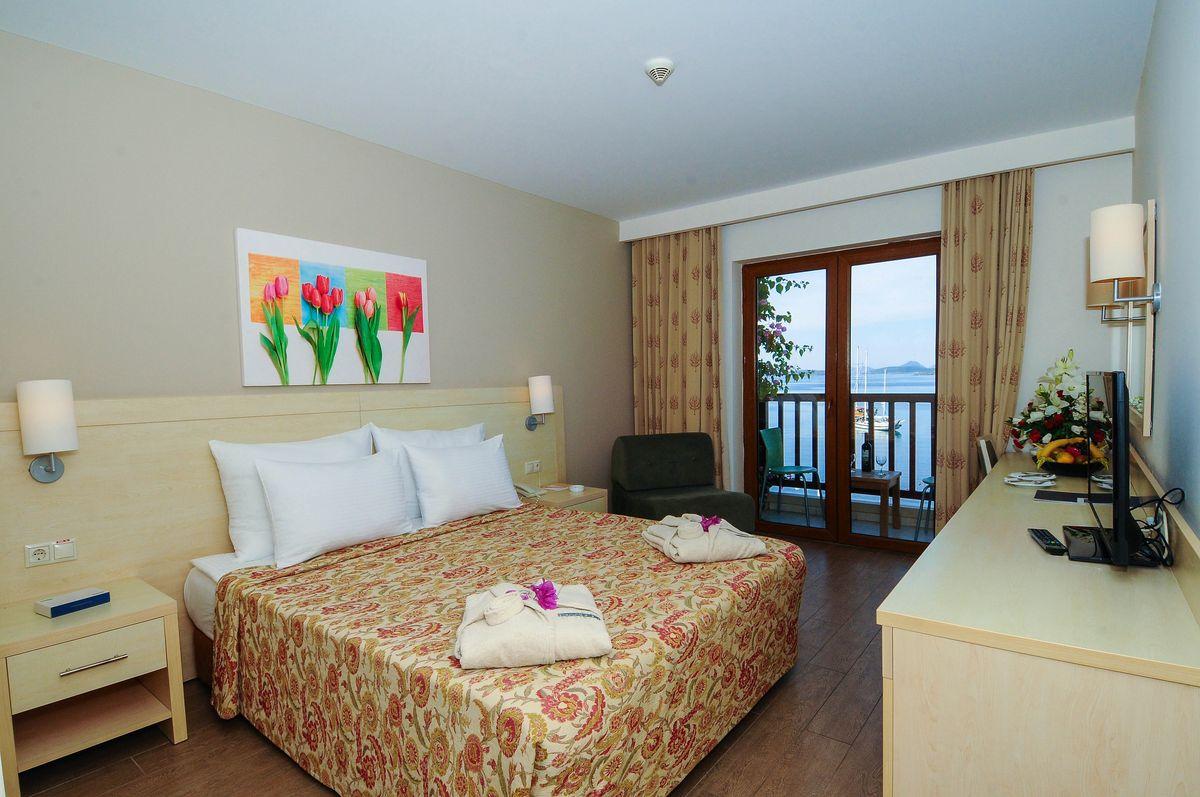اتاق های هتل دیاموند بدروم ترکیه