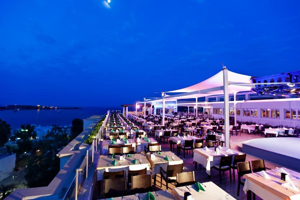 رستوران های هتل رویال آسارلیک بدروم ترکیه