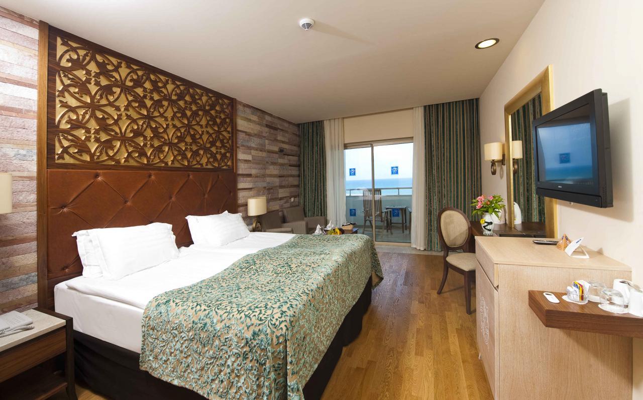 اتاق های هتل ملاس لارا آنتالیا