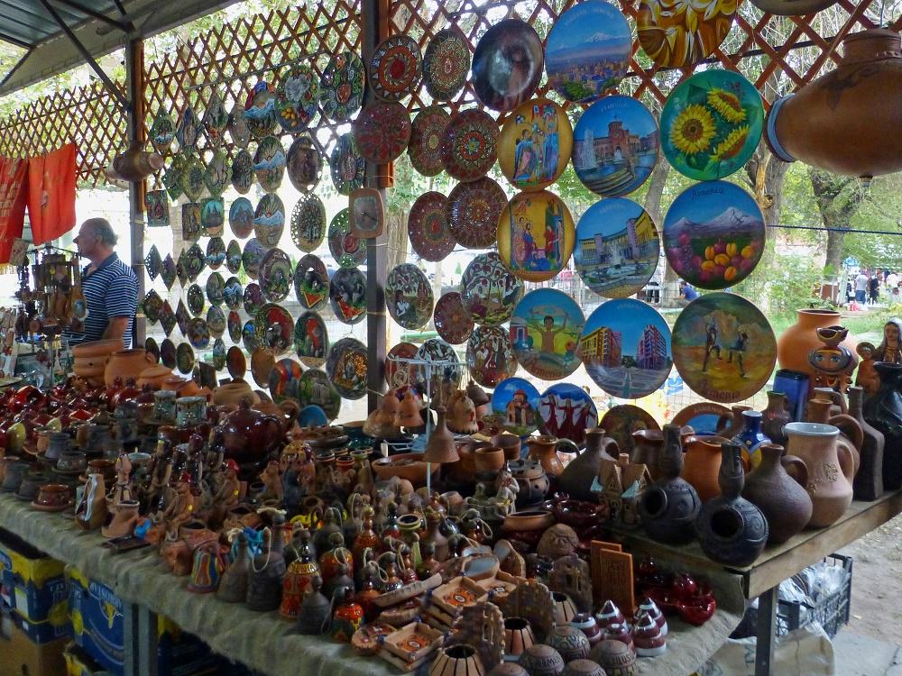 دسترسی های نزدیک به بازار ورنیساژ در ایروان