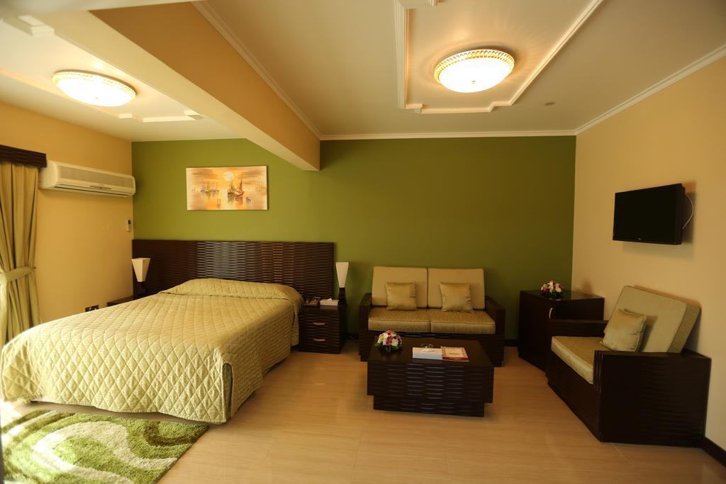 اتاق های هتل پانوراما بر دبی