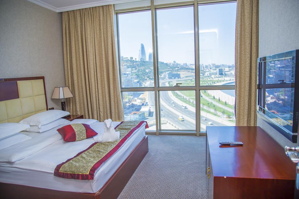 اتاق های هتل گلدن کاست باکو