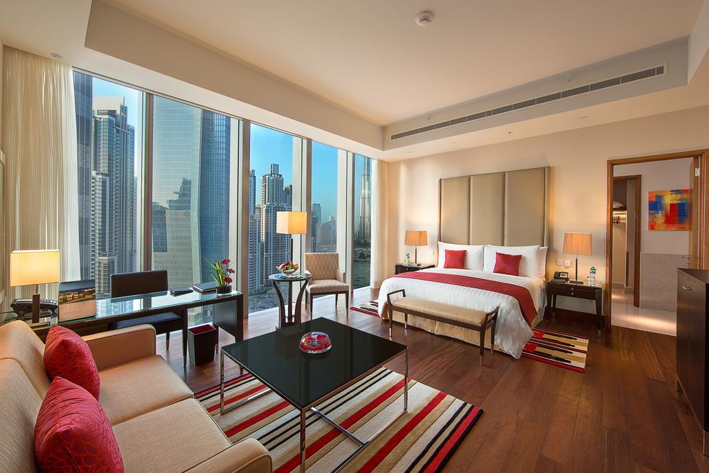 اتاق های هتل اوبریو دبی