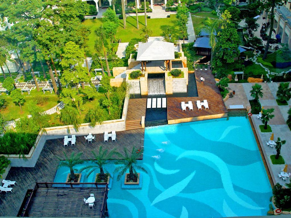 رستوران ها و امکانات رفاهی هتل دانگ فنگ گوانجو چین