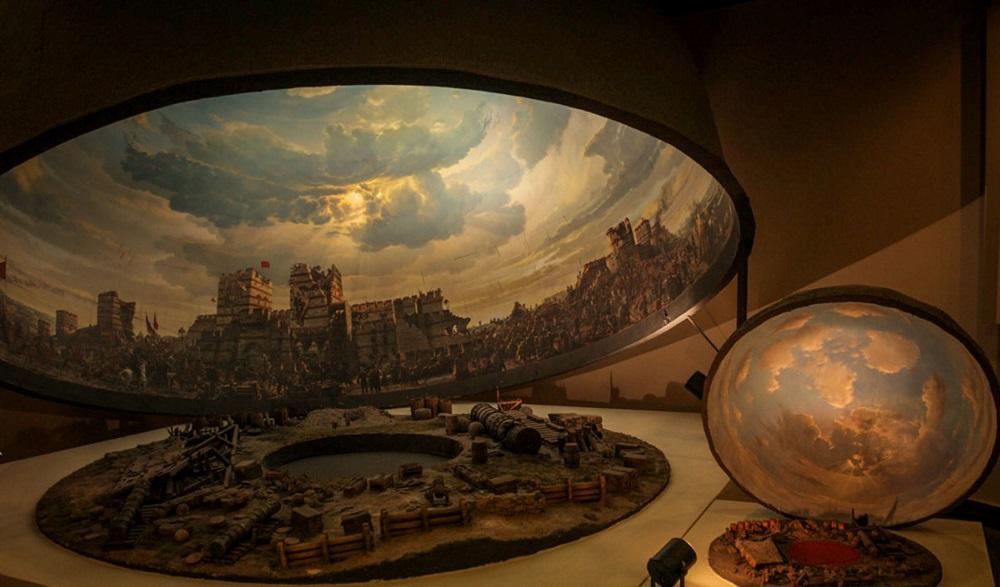 آثار موزه پانوراما استانبول
