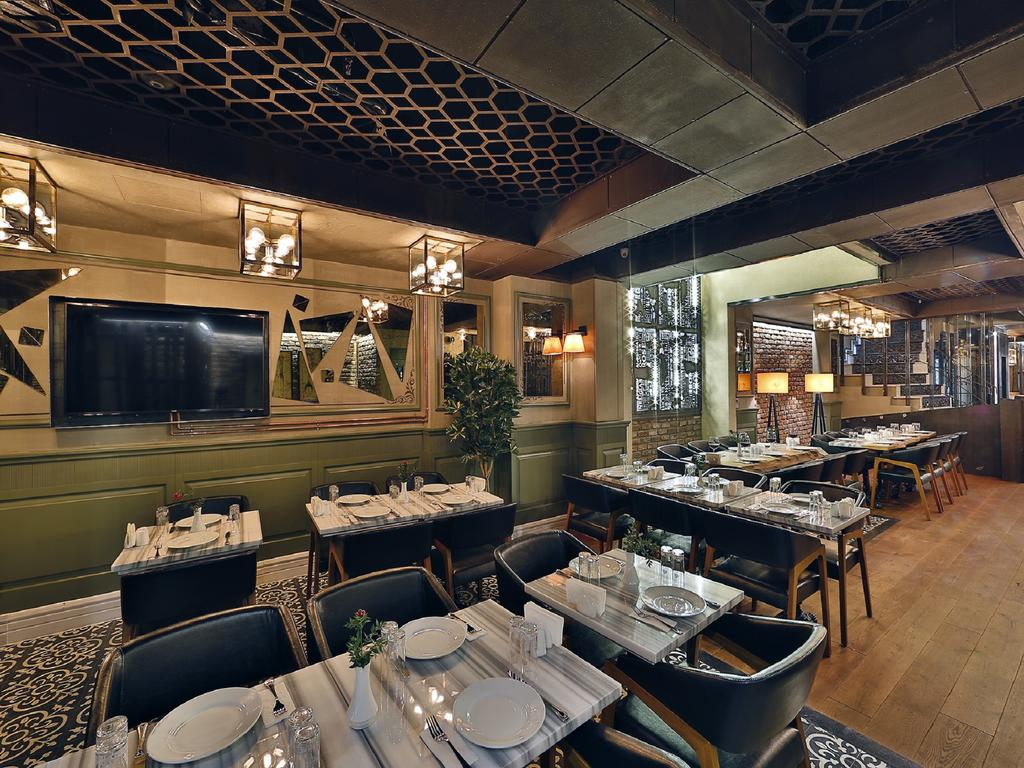 رستوران ها و امکانات رفاهی هتل sanat استانبول