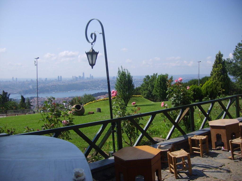 رستوران ها و کافی شاپ روی بام استانبول