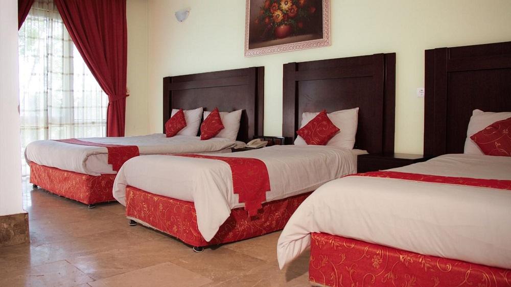 اتاق های هتل لوتوس کیش
