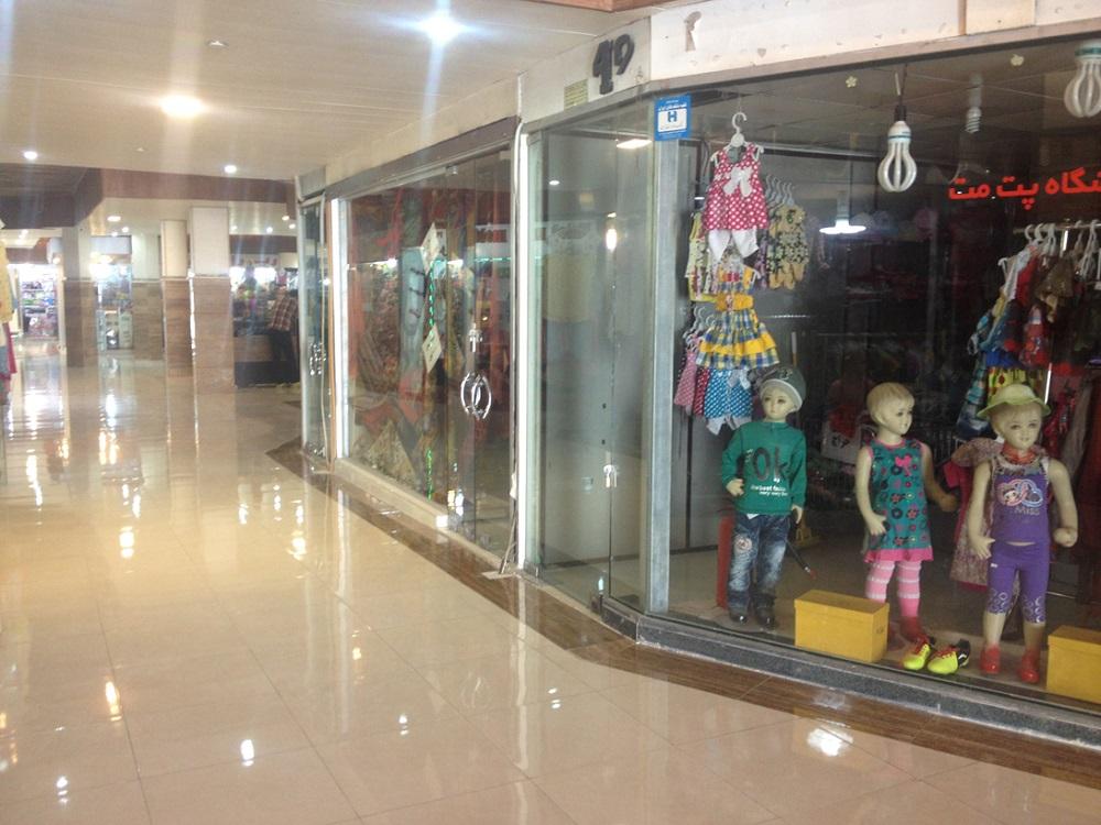 فرشگاه ها و غرفه های بازار پارس خلیج کیش