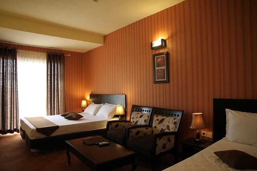 اتاق های هتل گاردنیا کیش