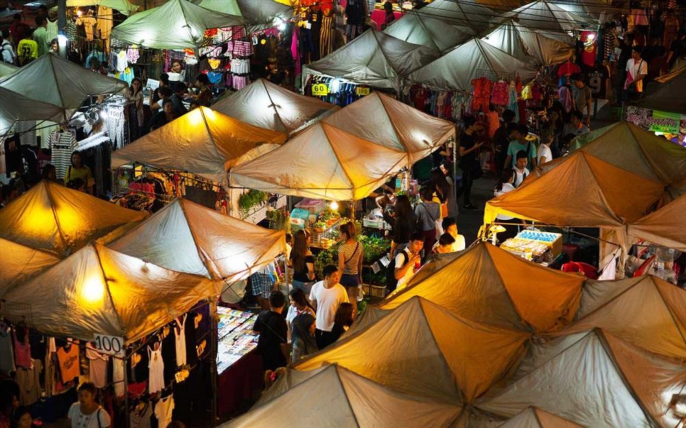 بازار شبانه پات پونگ بانکوک تایلند