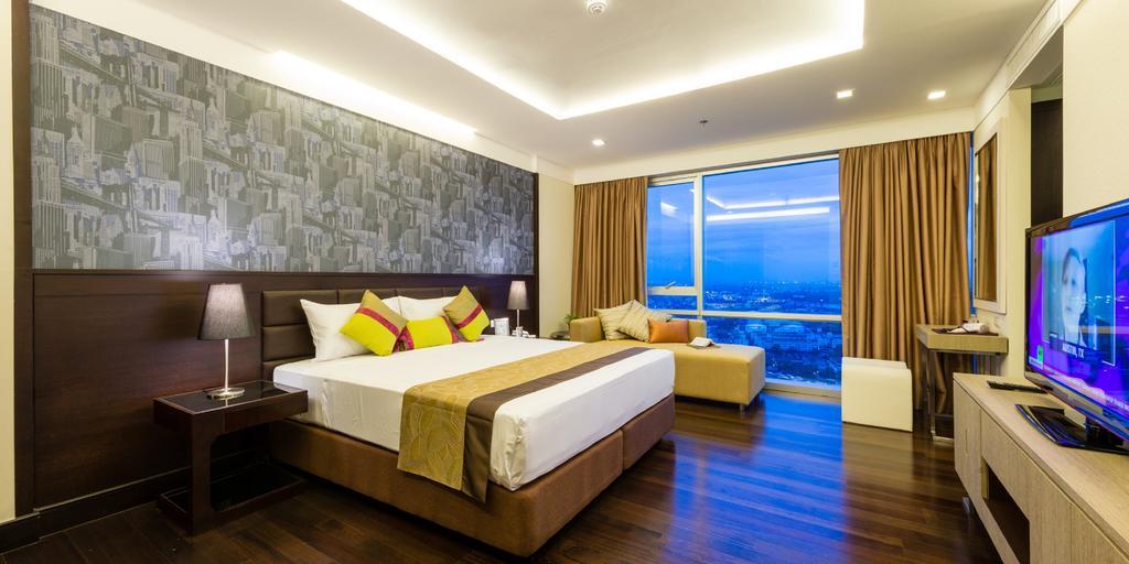 اتاق های هتل جاسمین گراند رزیدنس بانکوک تایلند