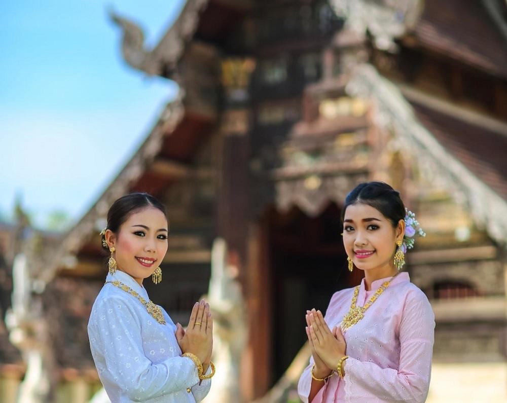 سلام و احوالپرسی به سبک تایلندی