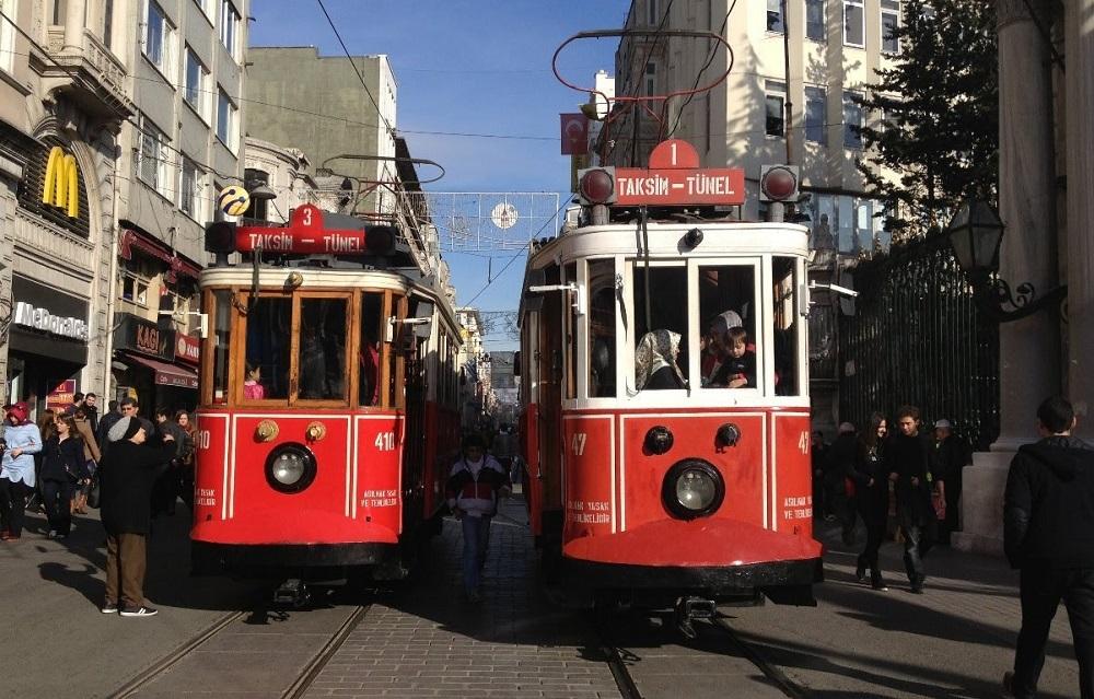 دسترسی وسایل حمل و نقل به میدان تقسیم استانبول