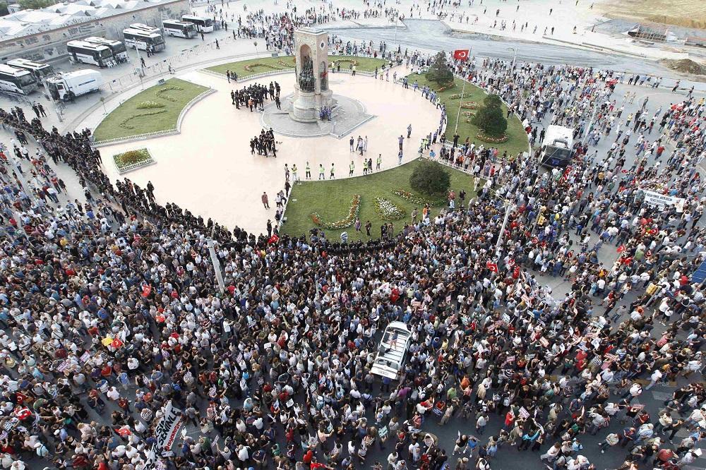 تاریخچه میدان تقسیم استانبول