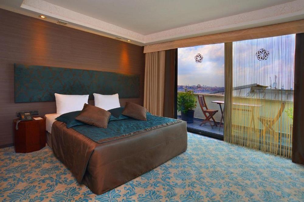 اتاق های هتل پرا تولیپ استانبول