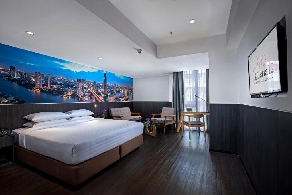 اتاق های هتل گالریا 12 بانکوک تایلند