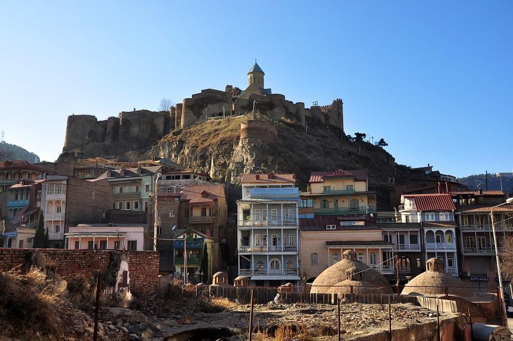 محله آبانتوبانی تفلیس گرجستان