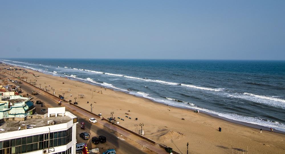 ساحل پوری در اودیسا هند